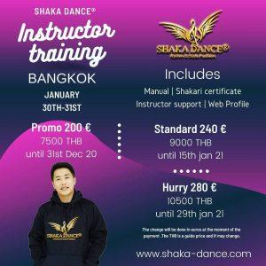 SHAKA DANCE® INSTRUCTOR TRAINING BANGKOK – Thailand