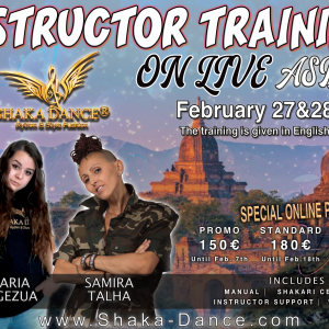 SHAKA DANCE®ON LIVE INSTRUCTOR TRAINING – ASIA