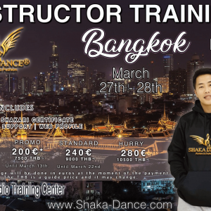 SHAKA DANCE® INSTRUCTOR TRAINING BANGKOK – Thailand