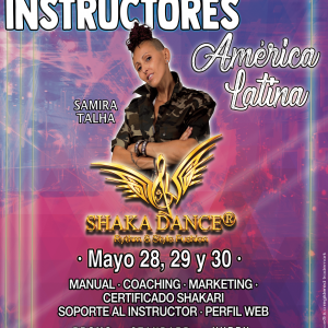 SHAKA DANCE® TRAINING – ON LIVE para LATINOAMÉRICA
