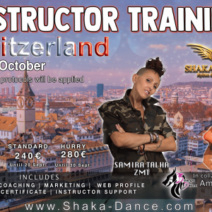 SHAKA DANCE® Instructor Training Switzerland